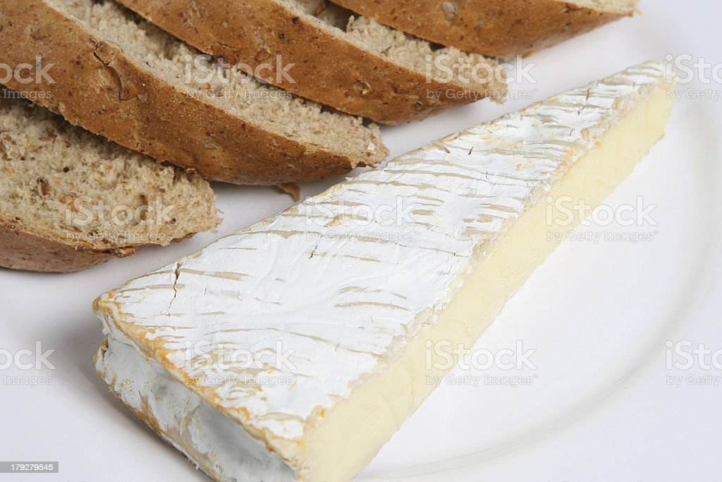 French Brie stock photo