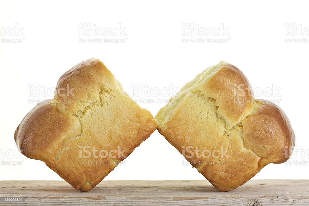 French Brioche royalty-free stock photo