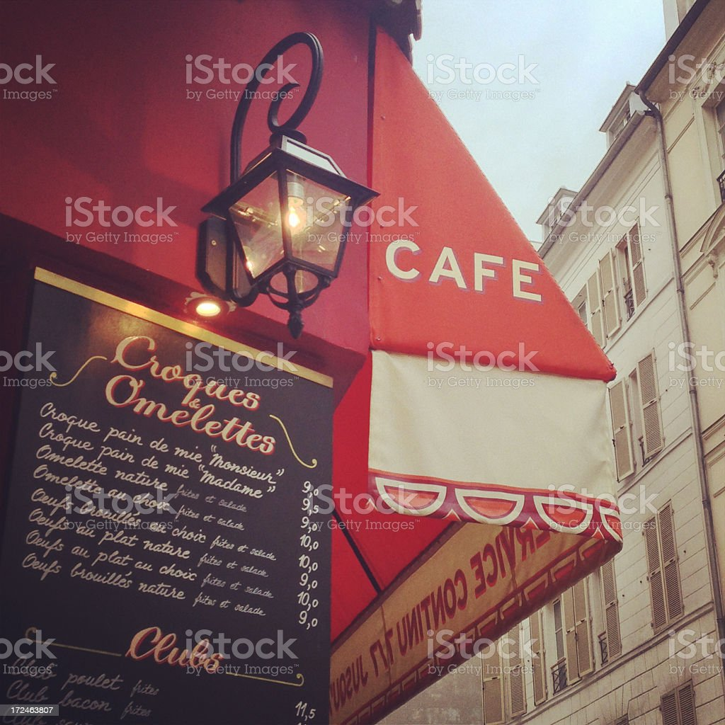French Cafe (Mobilestock) stock photo