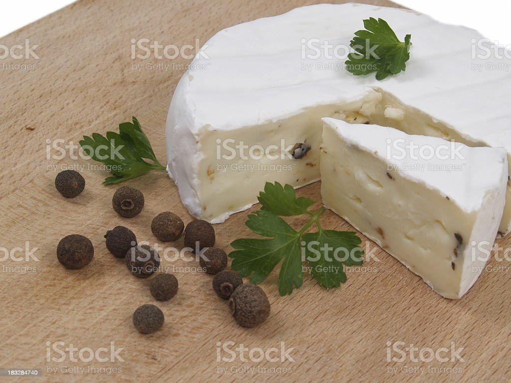 French Camembert stock photo