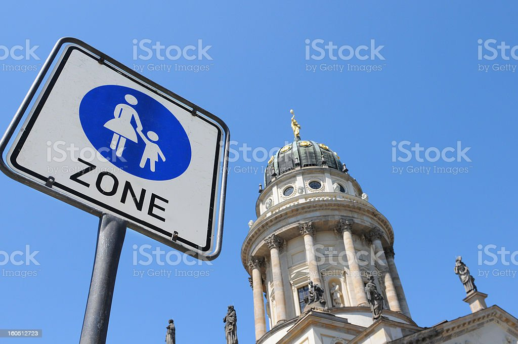 French Cathedral at Gendarmenmarkt (Berlin Germany) royalty-free stock photo