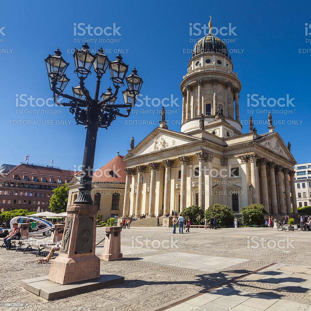 Franzosischer Dom, Gendarmenmarkt, Berlin, Germany royalty-free stock photo