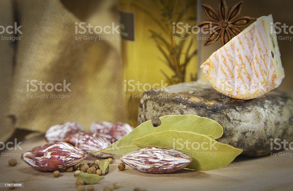 French cheese royalty-free stock photo