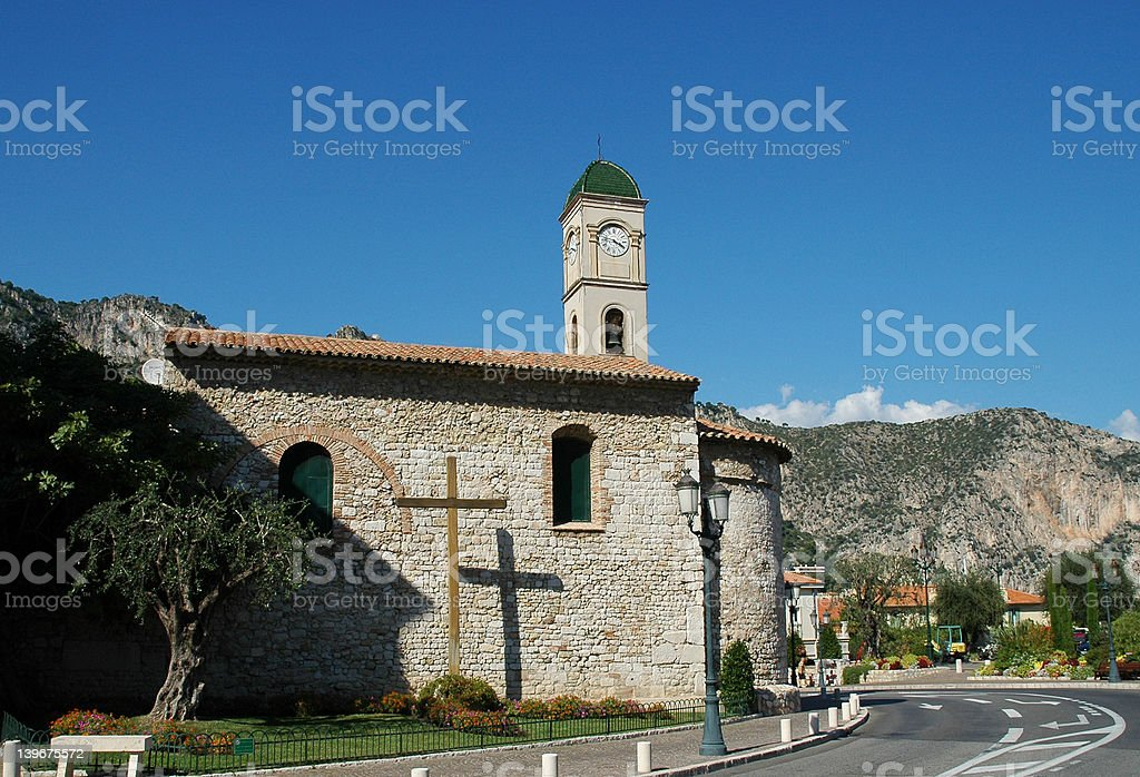 French church 2 stock photo