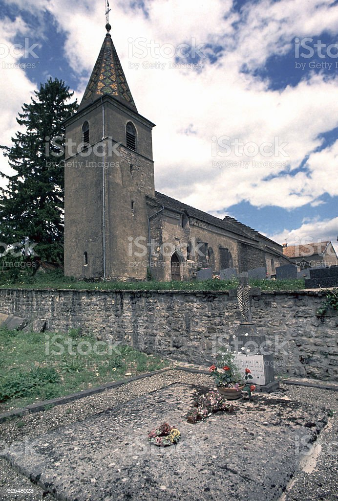 French Church royalty-free stock photo