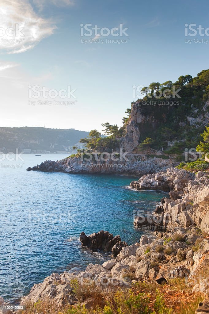 French Coastline royalty-free stock photo