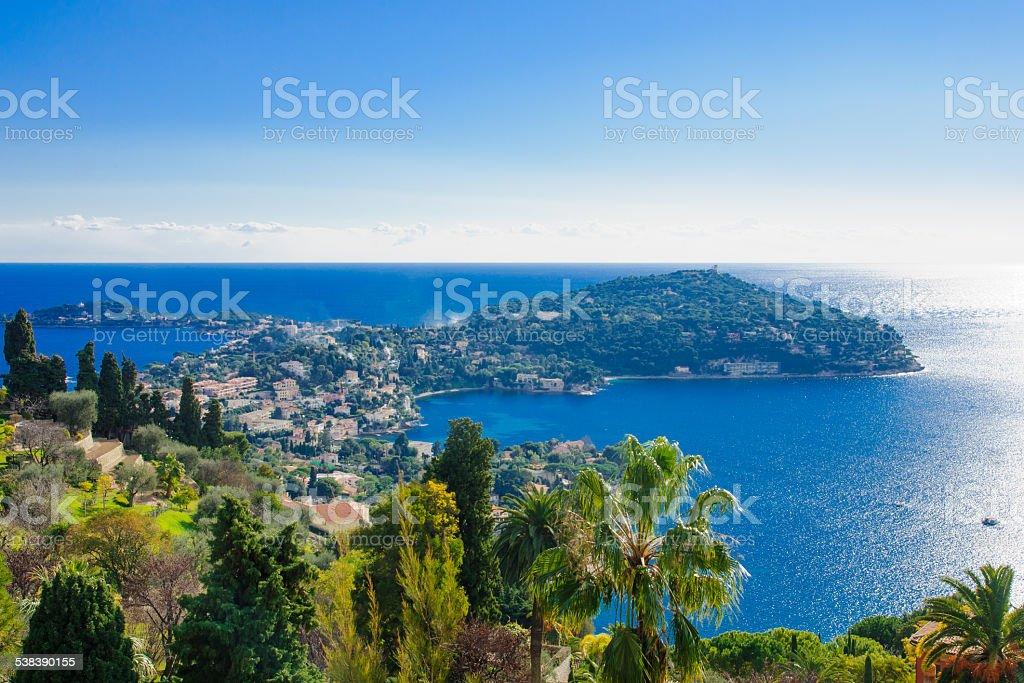 French coastline stock photo