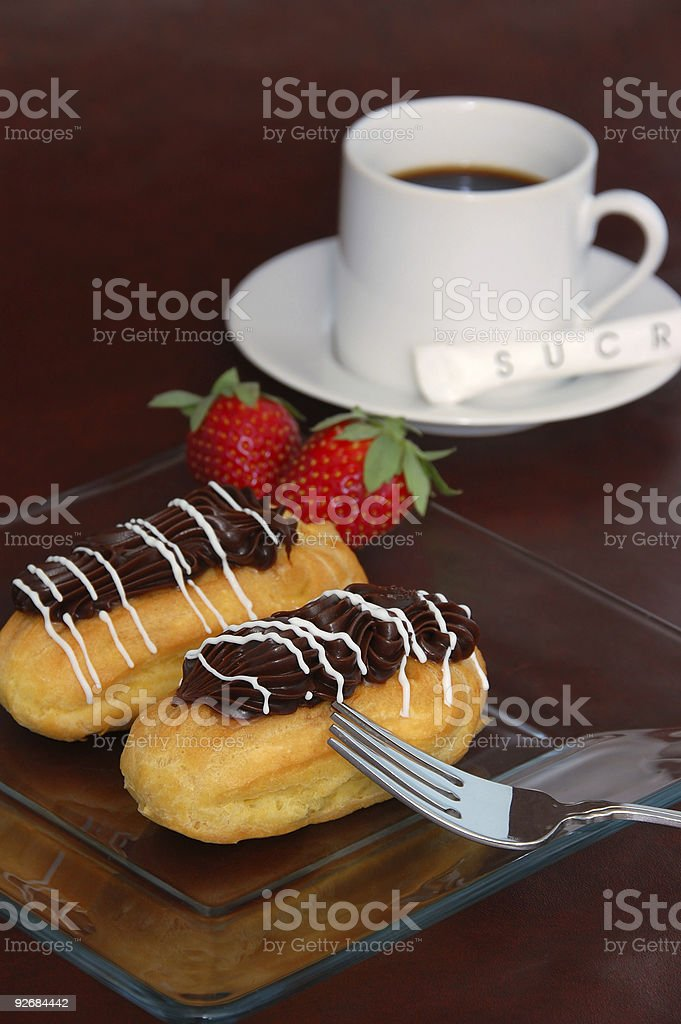French Coffee Break royalty-free stock photo