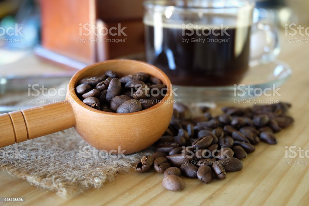 french coffee. stock photo