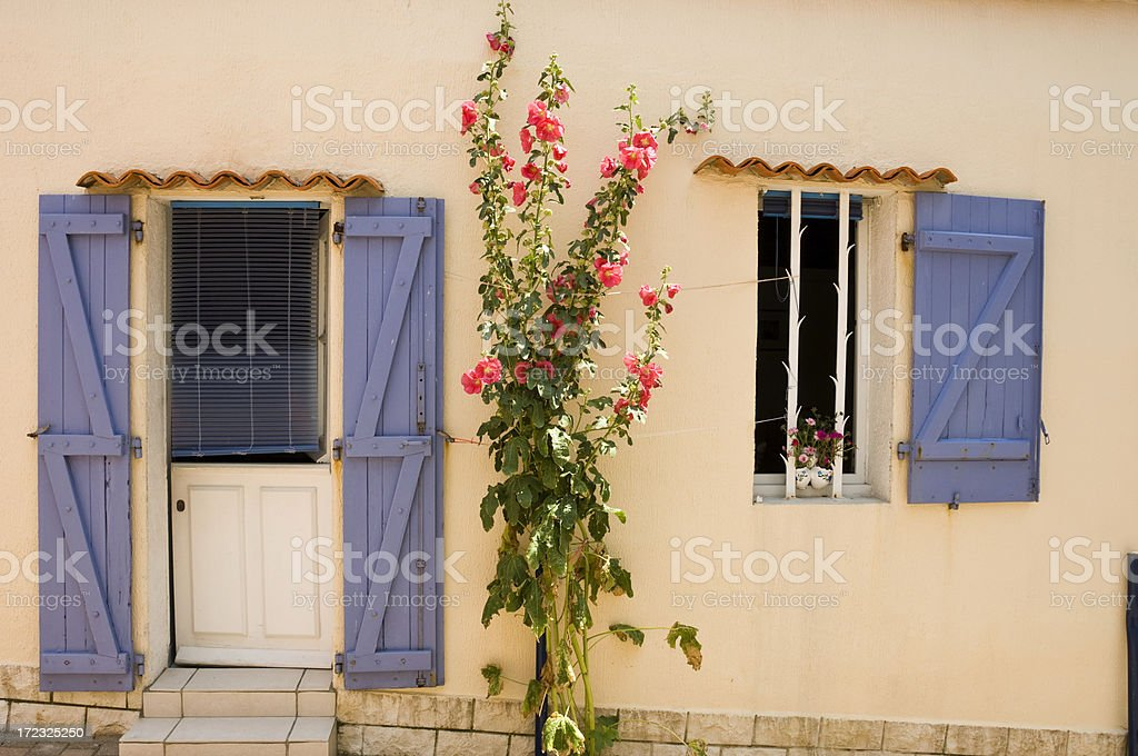 French Cottage royalty-free stock photo
