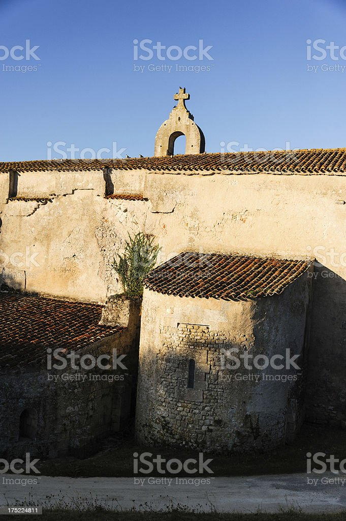 French Country Church royalty-free stock photo
