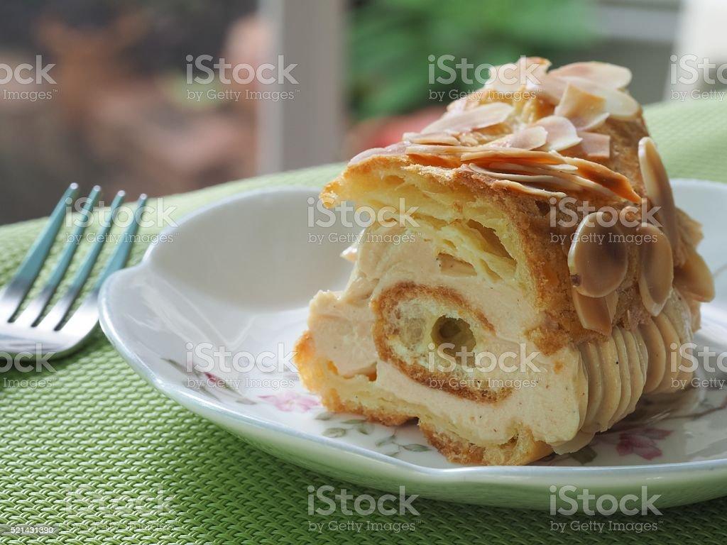 French Dessert Of Paris Brest stock photo