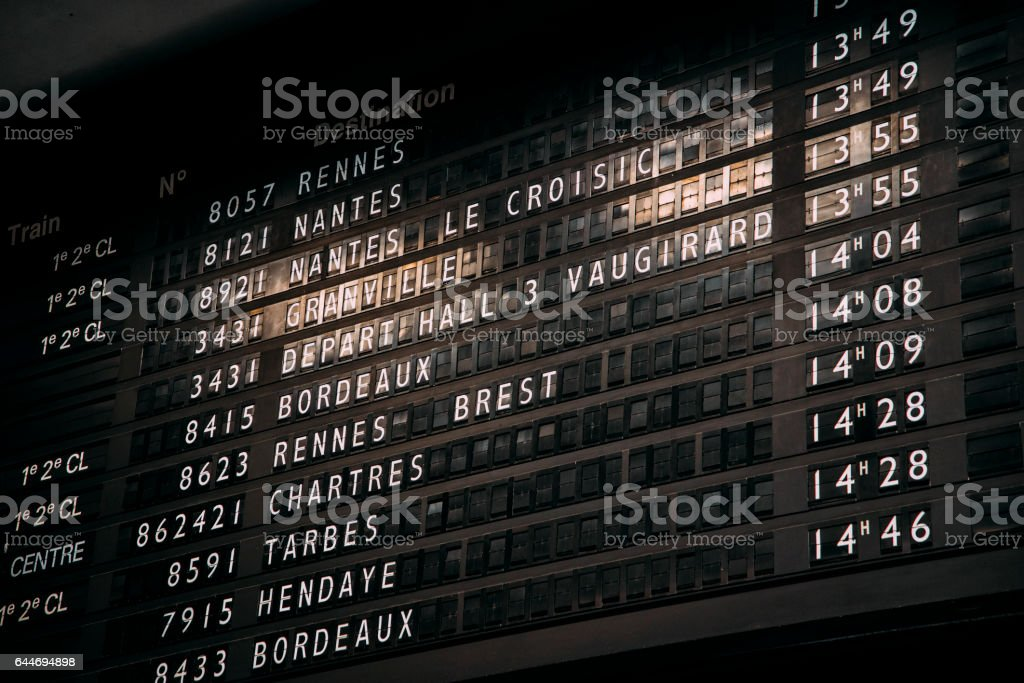 French destinations stock photo
