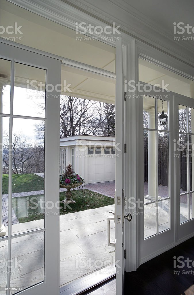 French Door royalty-free stock photo