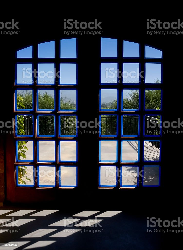 French Doors royalty-free stock photo