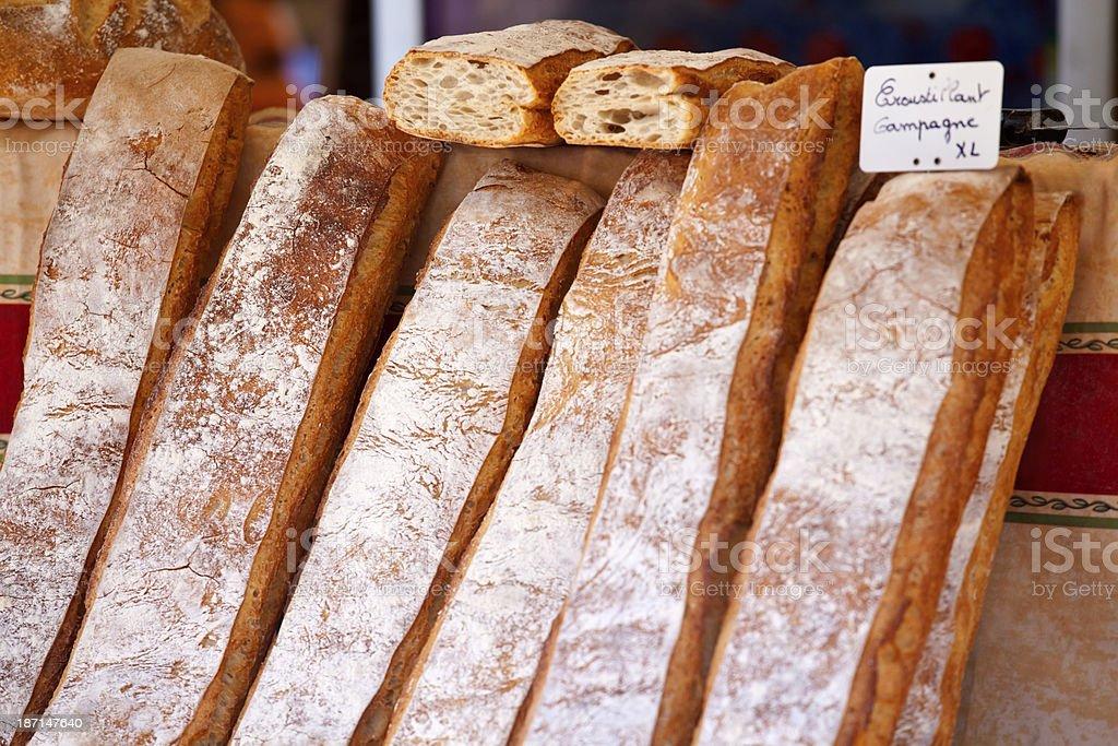French Farmhouse Loaves royalty-free stock photo