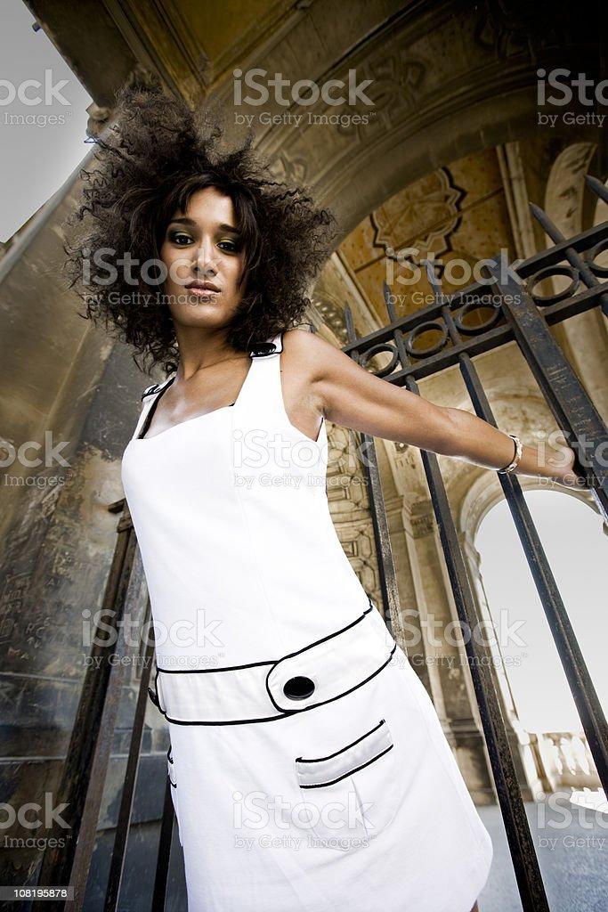 French Fashion Beauty royalty-free stock photo