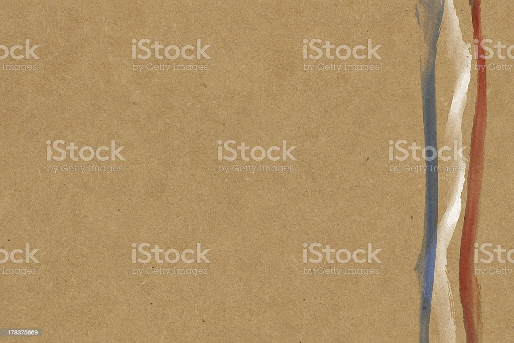 French Flag paper royalty-free stock photo