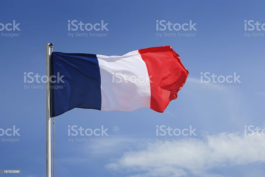 French Flag. royalty-free stock photo