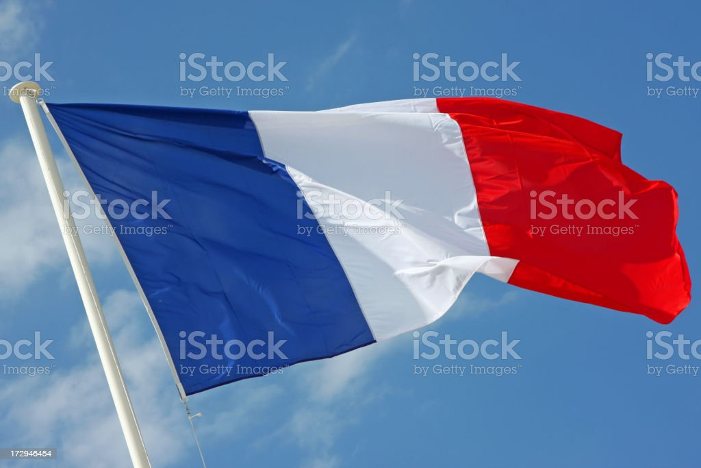 French flag # 1 XL stock photo