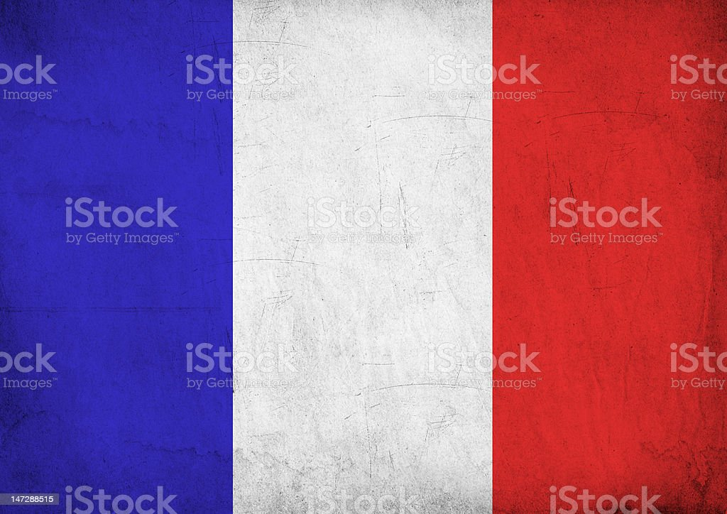 French flag XXL stock photo