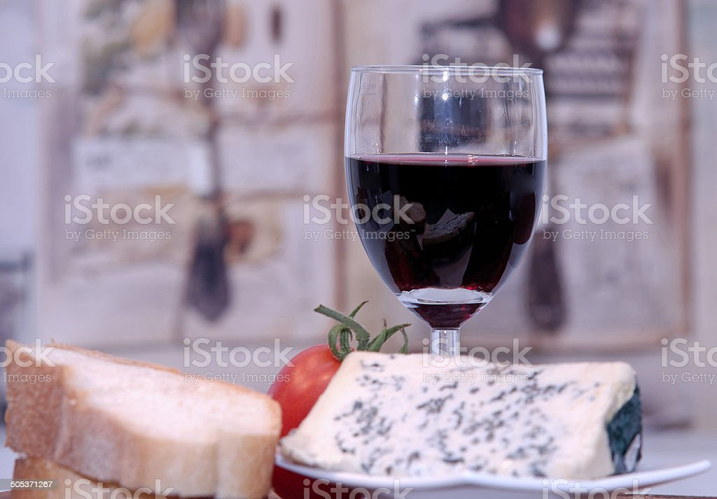 French food and drink stock photo