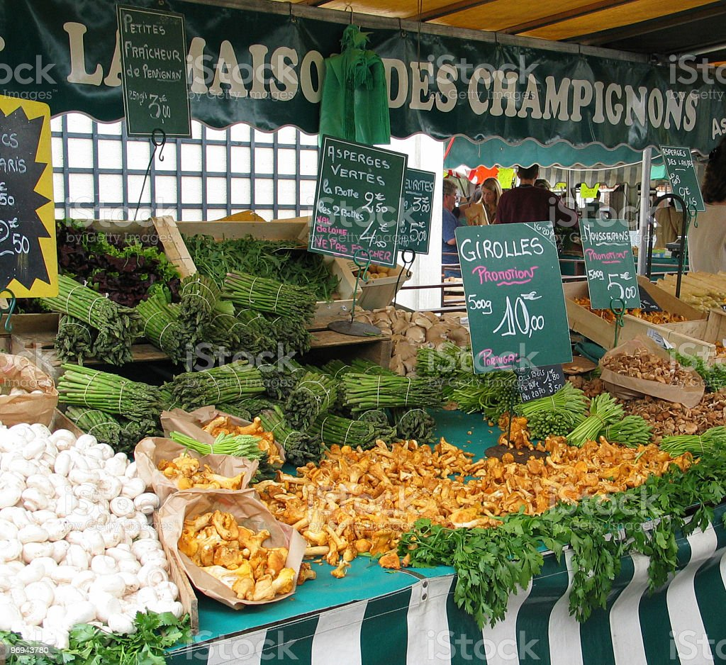 French food market royalty-free stock photo