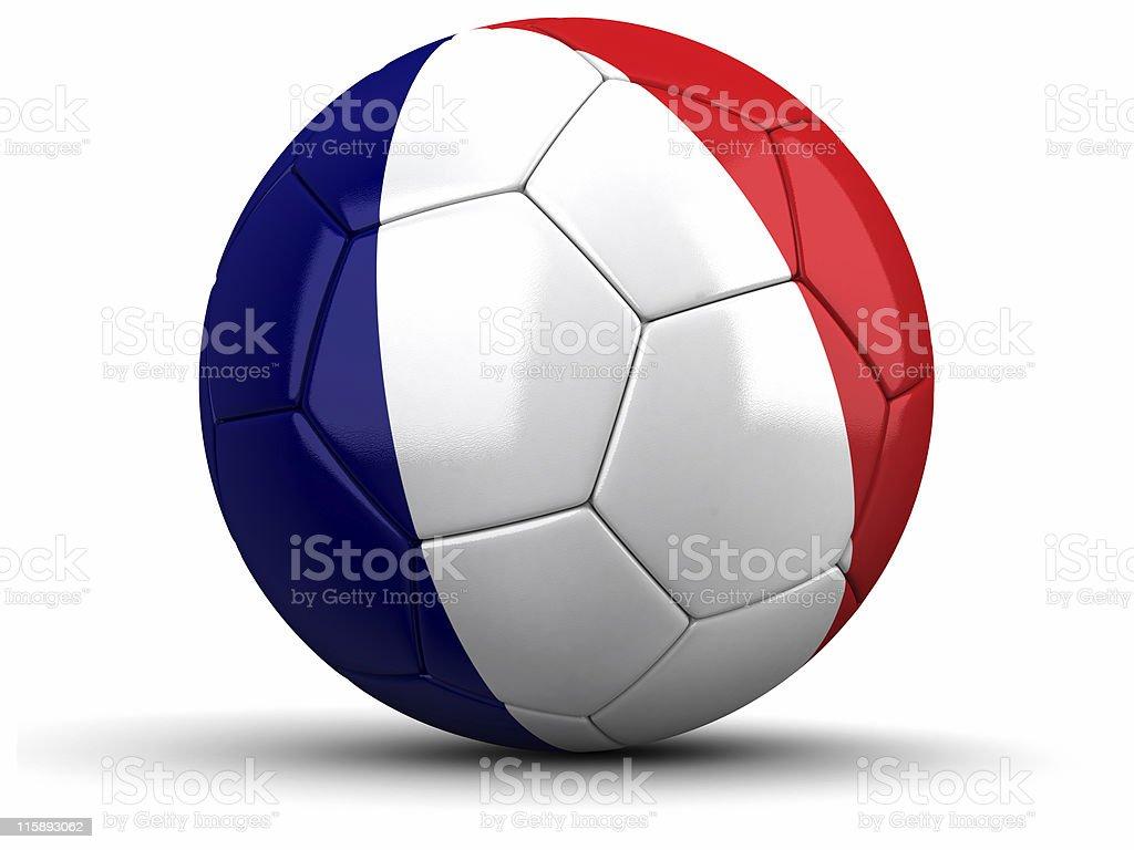 French Football royalty-free stock photo