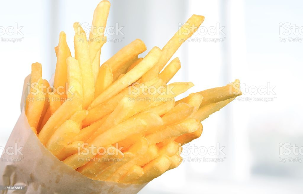 French Fries, Food, Fried stock photo