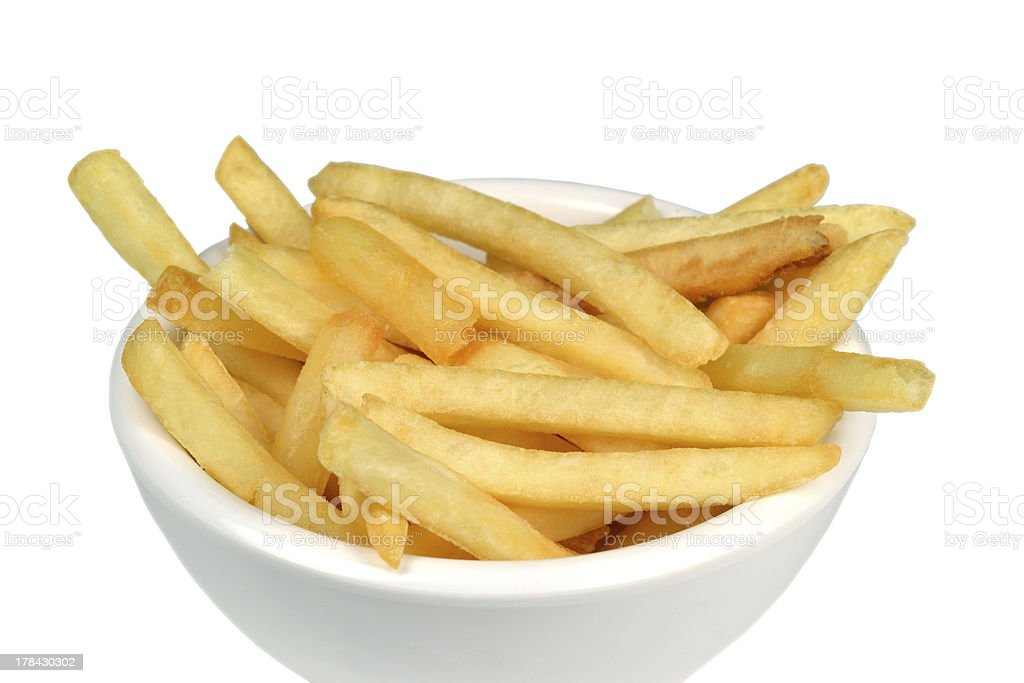French fries. royalty-free stock photo