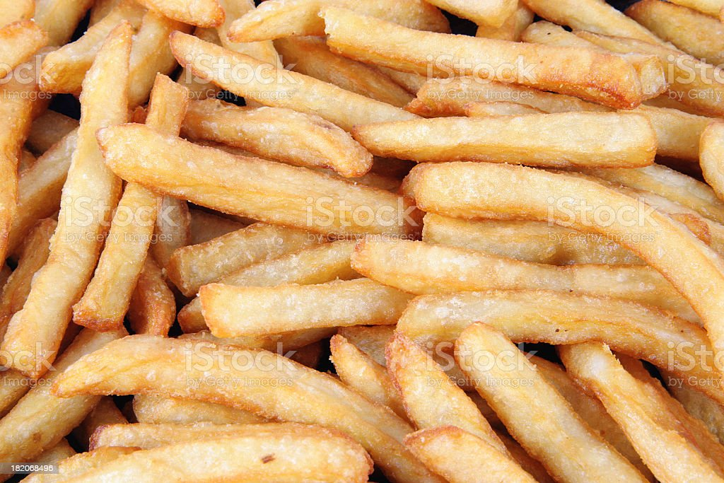 French Fries #3 royalty-free stock photo