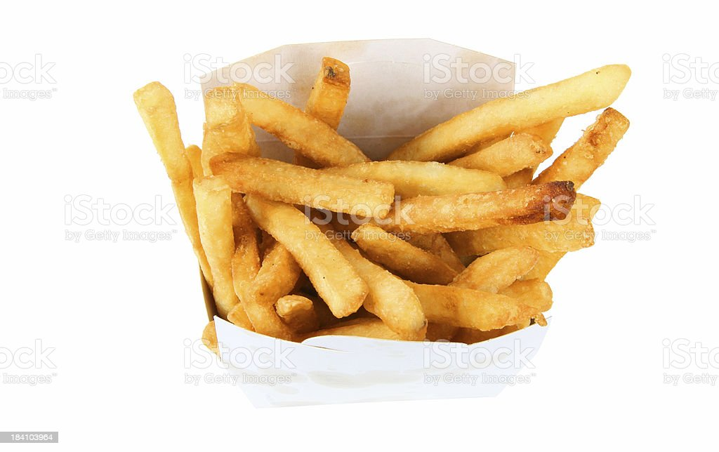 french fries #2 royalty-free stock photo