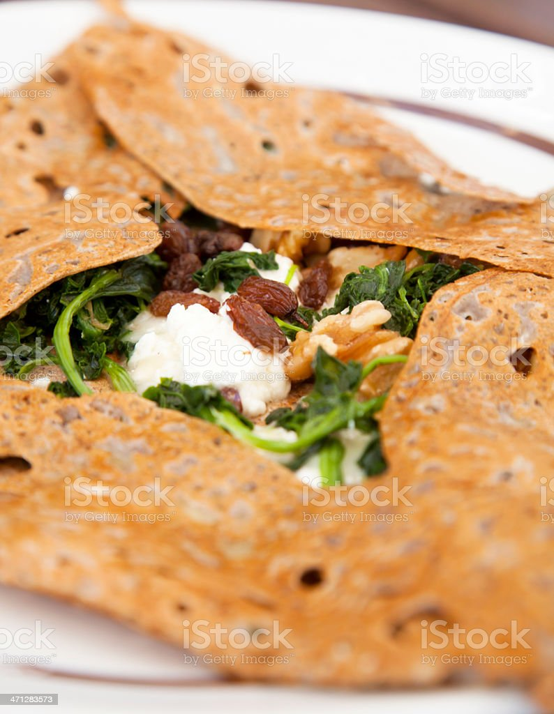 French galette stock photo