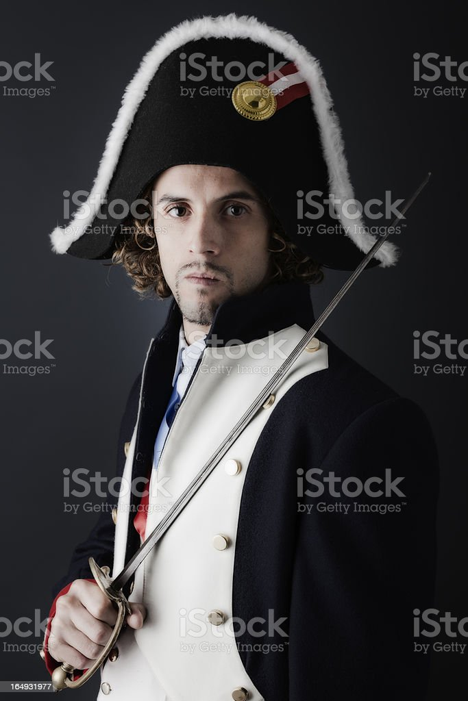 French General stock photo