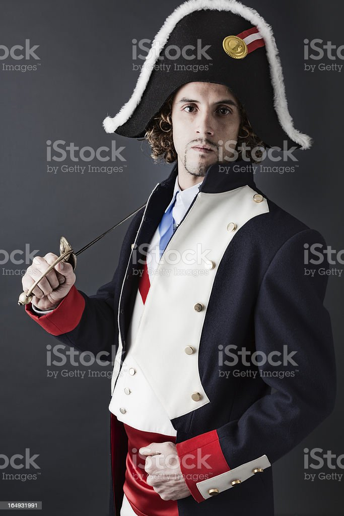 French General royalty-free stock photo