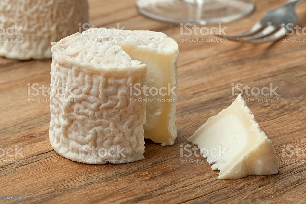 French goats cheese stock photo