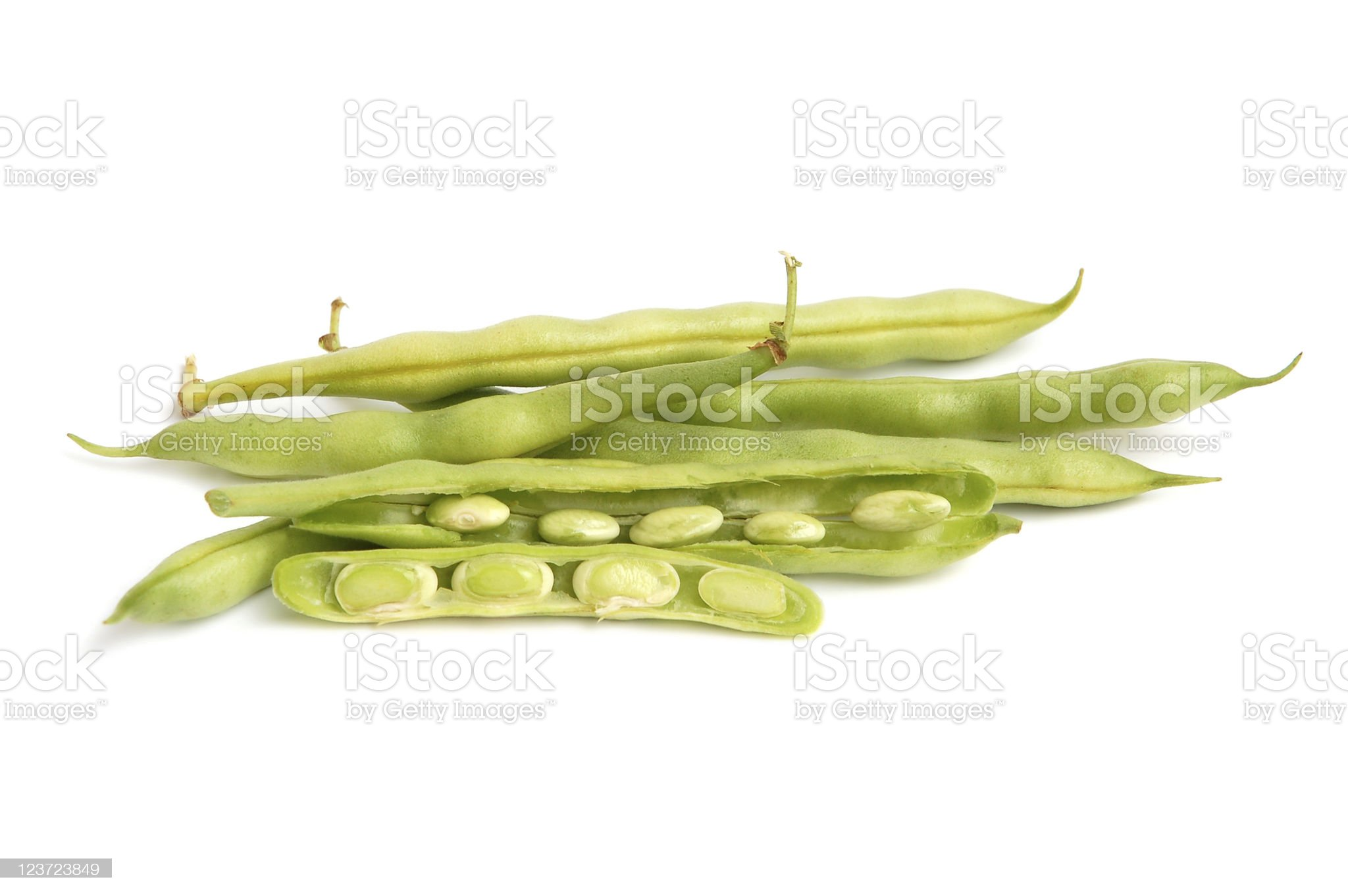 French green beans royalty-free stock photo