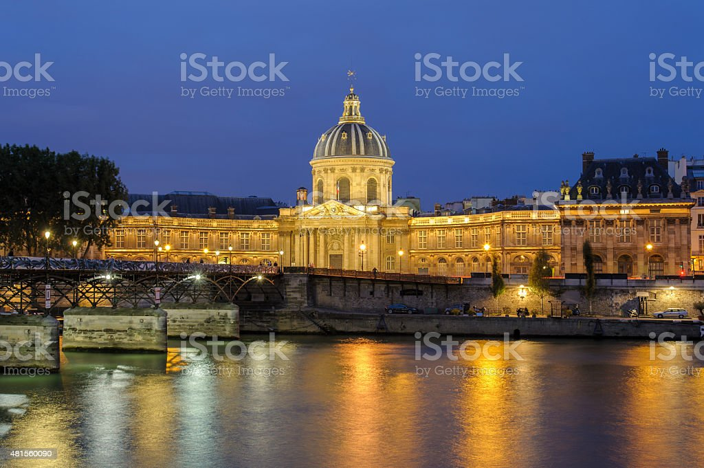 French institute stock photo