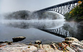 French King Bridge in the Pioneer Valley of Massachusetts