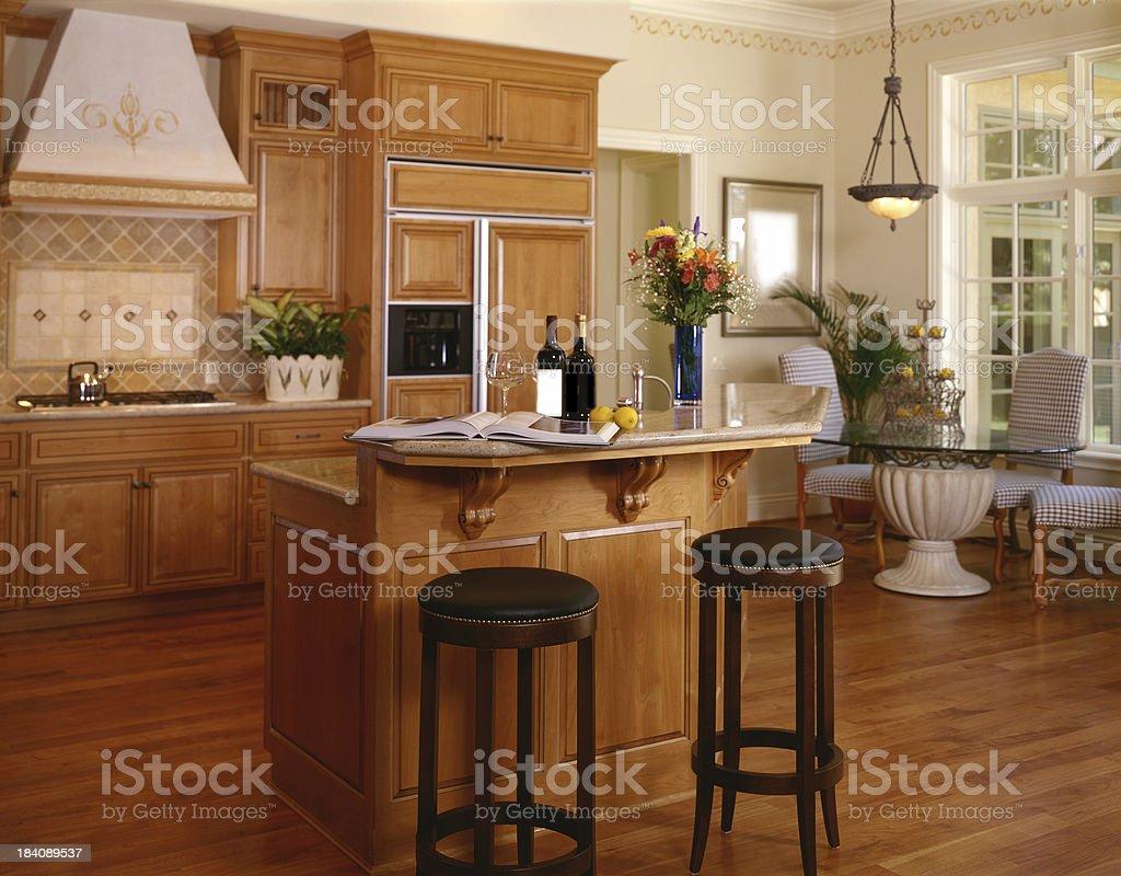 French Kitchen royalty-free stock photo