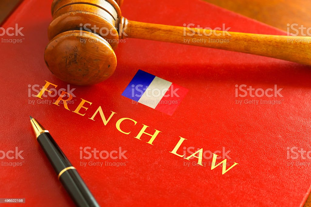 French Law stock photo