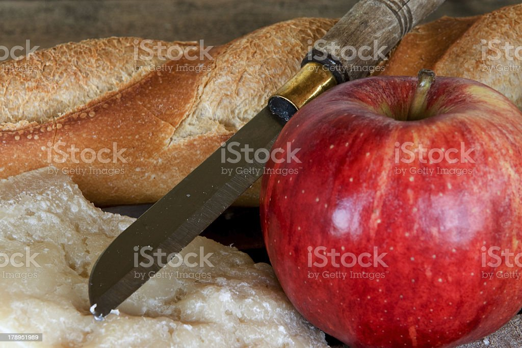 french lunch royalty-free stock photo
