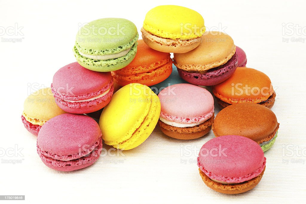 french macaron cookie royalty-free stock photo