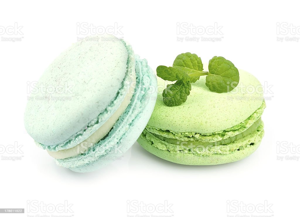 French macaroons . royalty-free stock photo