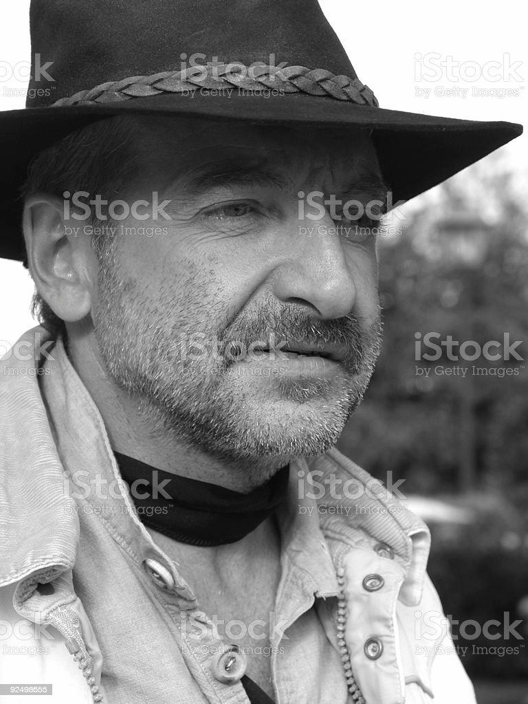 French Man 2 stock photo