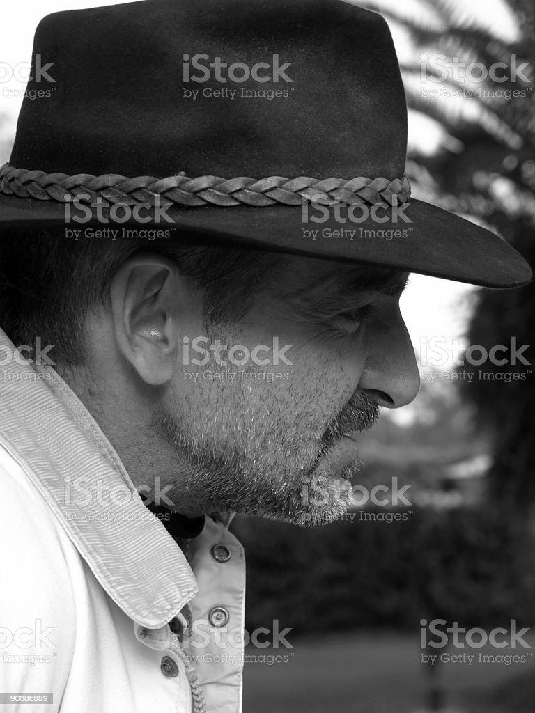 French Man stock photo