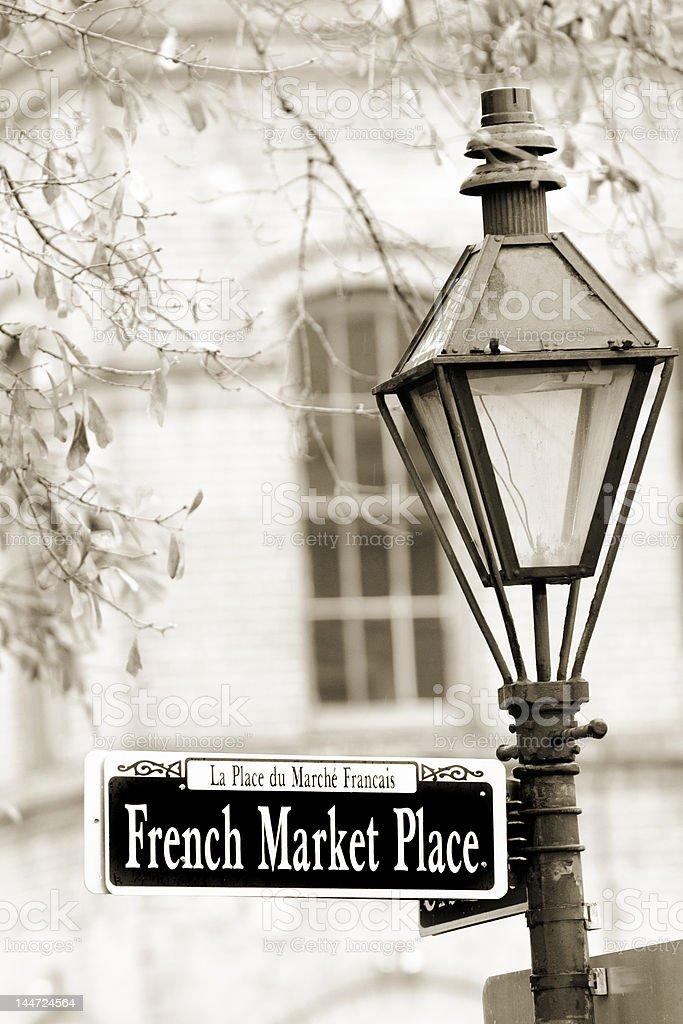 French Market royalty-free stock photo