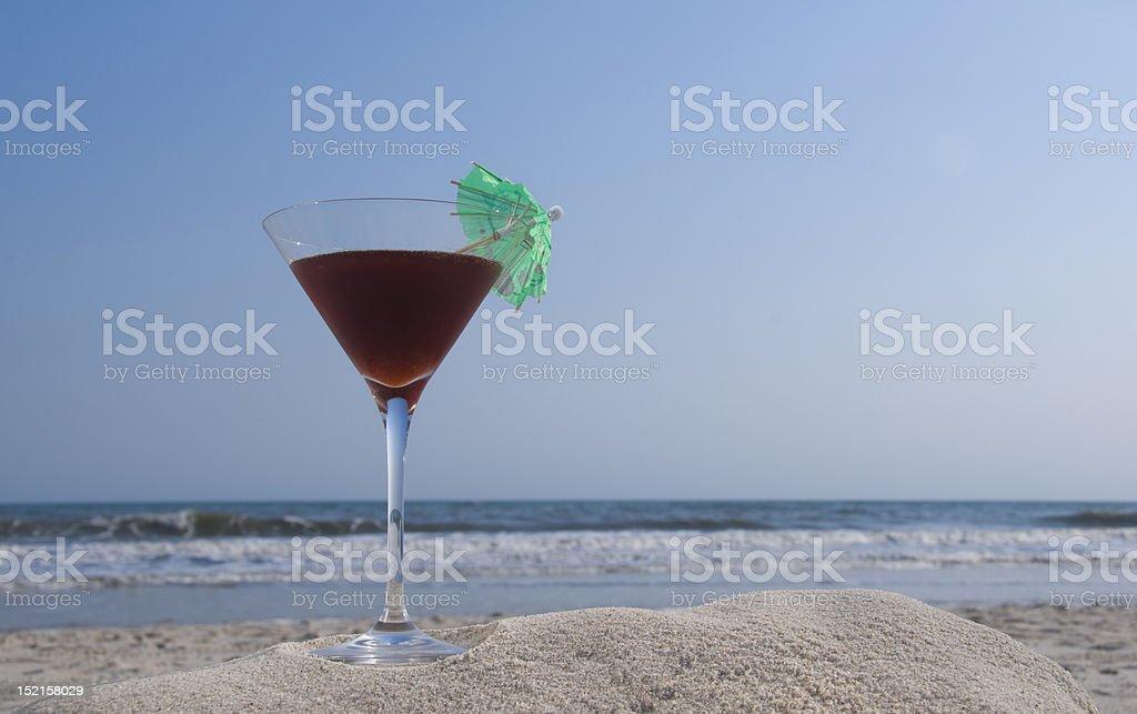 French Martini stock photo