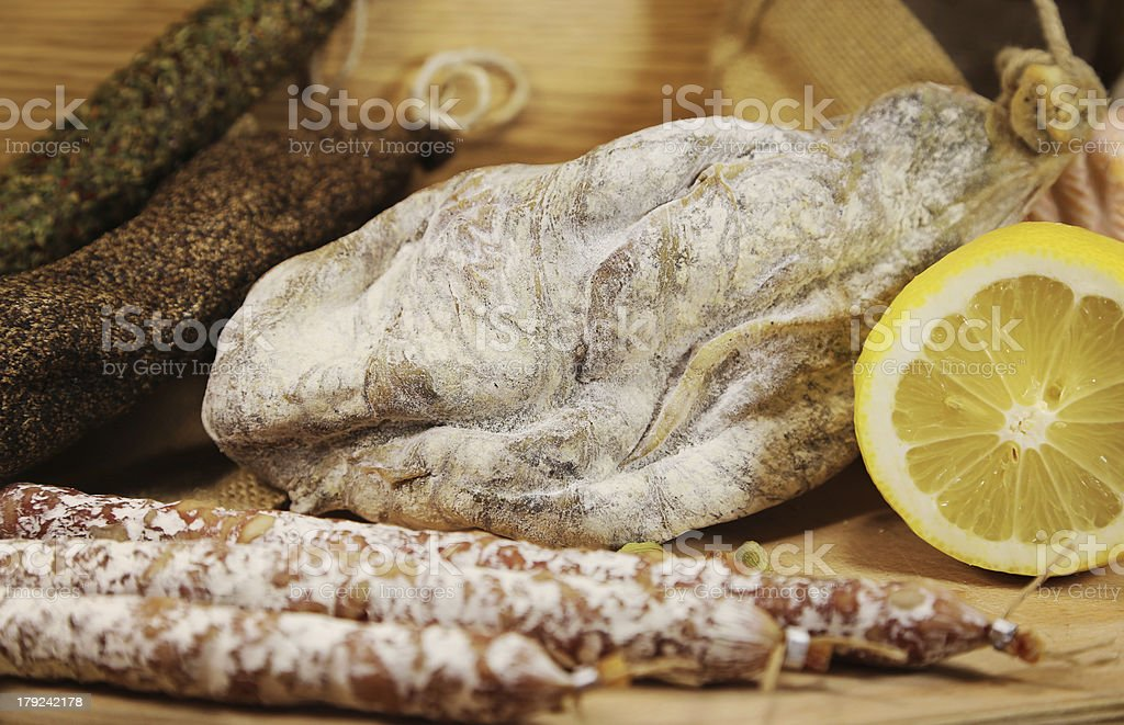 French meat with lemon royalty-free stock photo