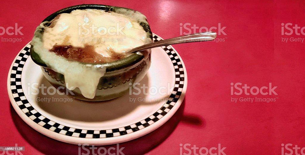 French Onion Soup stock photo